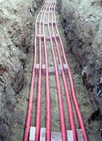 прокладка силовых кабелей. Реутовские электрики.