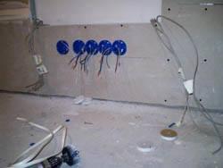 Электромонтажные работы в квартирах новостройках в Реутове. Электромонтаж компанией Русский электрик